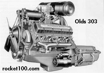 oldsmobile 303 rocket v8 olds 303 rocket v8 oldsmobile engines rh rocket100 com