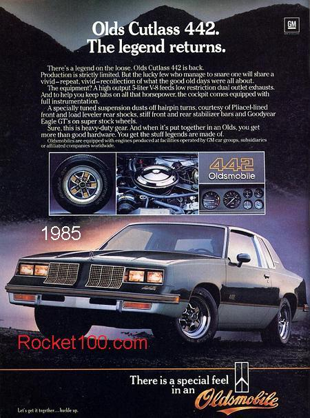 oldsmobile 442 1985 Olds 442
